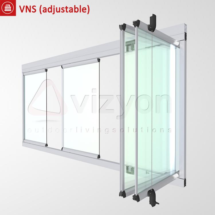 VNS Balcony Glazing system