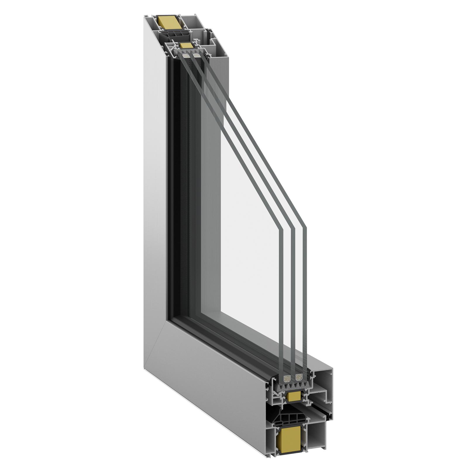 Inoform F70 Super Smart with invisible sash profile