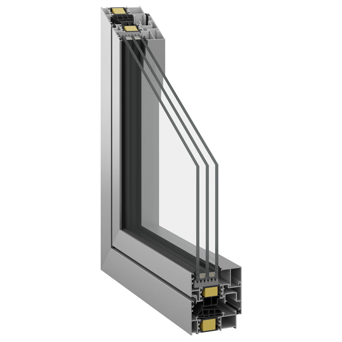 Inoform F70 Smart with reduced sash profile height