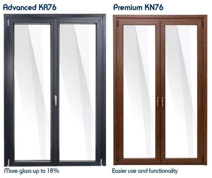 Tilt and turn Premium KN76 - Advanced KR76