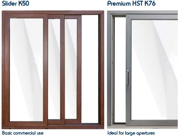 Lift & slide doors Premium HST K76